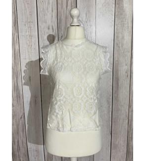 blouse kant wit