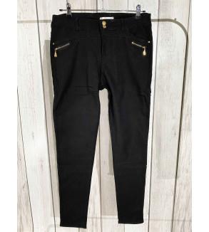 broek zwart met gouden details