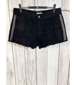 short jeans zwart